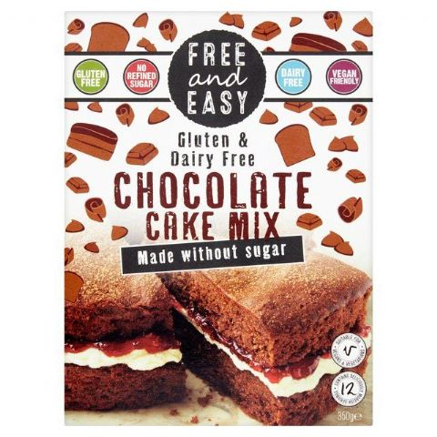 Free & Easy Chocolate Cake Mix Gluten & Dairy Free 350g
